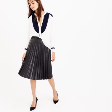 jcrew pleated